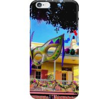 Mardi Gras in New Orleans Square iPhone Case/Skin