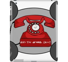 Sad Belly Who you gonna call? iPad Case/Skin