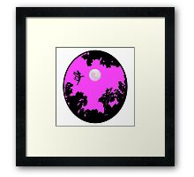 Moonlight Faerie Circle Framed Print