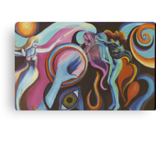 Mirror Spirit in the Wind Canvas Print