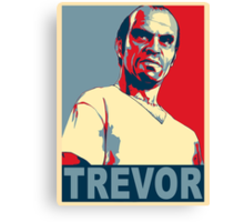 Grand Theft Trevor Canvas Print