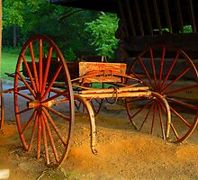 Little Red Wagon by David Lee Thompson