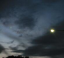 Cloudy Sunset by erikaadams