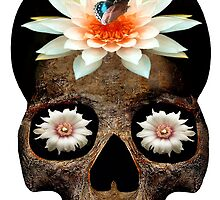 Lotus Skull by Bushbrother