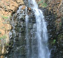 Morialta Water Fall 1 from a distance(tall) by elphonline