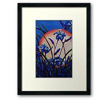 Lily Light Framed Print
