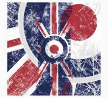 Grunge Mod Target Roundel Union Jack Kids Clothes