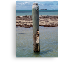Shoalwater Post Canvas Print