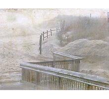 The Fog Hides Secrets Photographic Print