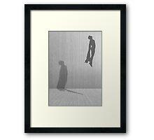 Minimal Superman Framed Print