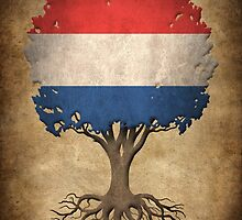Tree of Life with Dutch Flag by Jeff Bartels