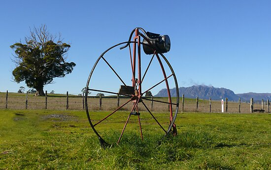 Penny Farthing Letterbox by Josie Jackson