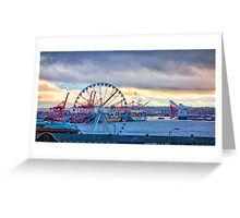 Port Of Seattle Greeting Card