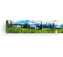Paradise at Mt. Rainer Canvas Print