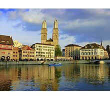Zurich  - You Touched My Heart Photographic Print