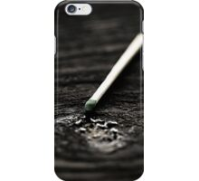 Strike iPhone Case/Skin