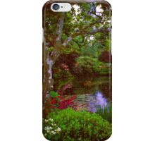 Quiet Japanese Pool iPhone Case/Skin