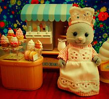 Sylvanian Families ~ Cat Ice Cream  by Forever Feline