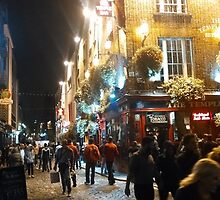 Temple Bar, Dublin, Ireland by Rootoli-Visions