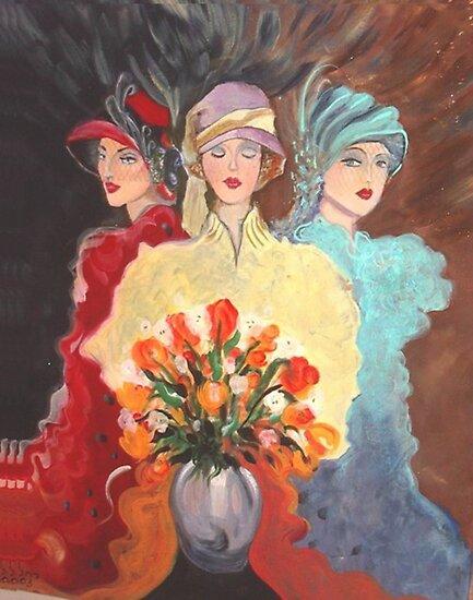 Three Madams of the Wild West by Racheli