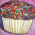 &quot;Chocolate Cupcakes With Sprinkles&quot; by Adela Camille Sutton