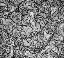 Corwin's Pattern (Detail) by Melissa Flattery