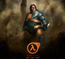 Lord Gaben, Half Life 3 by endgameendeavor