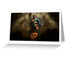 Lord Gaben, Half Life 3 Greeting Card