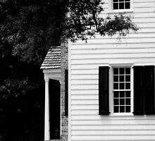 The Latta Plantation, B&W by Kelsey Williams