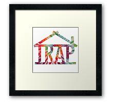 Trap House Framed Print