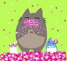 Totoro Spring by mayiying89