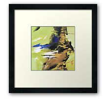 Soothing Abstract Framed Print