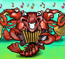 Crawfish Band by Kevin Middleton