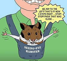 Seeing-Eye Hamster by Rich Diesslin