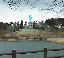 Statue of Liberty in Shimoda Aomori, Japan by icesrun