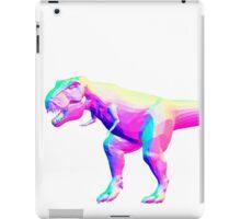 Rainbow Normal T-Rex iPad Case/Skin
