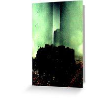 Dark City Greeting Card