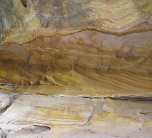 Yellow Ochres, Cania Gorge National Park, Central Queensland  by Lisa Evans