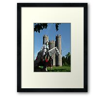 Blaise Castle's Knight Framed Print