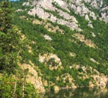 Lean In - A Mountain Lake Impression Sticker