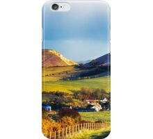 Looking over Lulworth iPhone Case/Skin