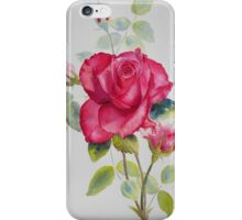 Red rose for you iPhone Case/Skin