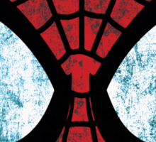Spider-Man Grunge Sticker