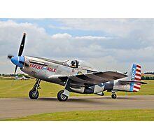 P-51K Mustang 44-12016 N98CF Photographic Print