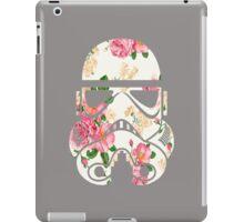 Vintage Floral Worker Bot Droids Design iPad Case/Skin