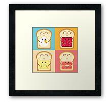 Love your Breakfast Framed Print
