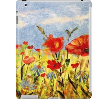 *With Love on Your 55th (Wildflowers in Acrylics)* iPad Case/Skin