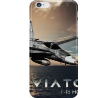 F-18 Hornet Jet Fighter iPhone Case/Skin