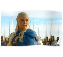 The Consecration of Daenerys. Poster