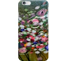 *Glass Waterlillies Abstract* iPhone Case/Skin